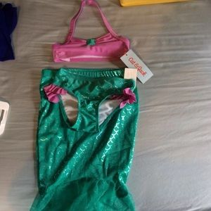 Other - Cat and jack mermaid bathing suit